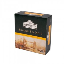 ENGLISH TEA N 1 - AHMAD TEA LONDON - 100 BOLSITAS DE TÉ - 200 GR